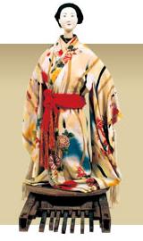 Toro Ningyo ; puppet, from Yame Fukushima